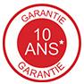 Possibilité d'une garantie étendue à 10 ans