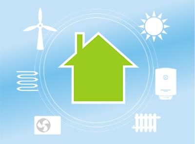 Chauffage hybrique, énergie renouvelable