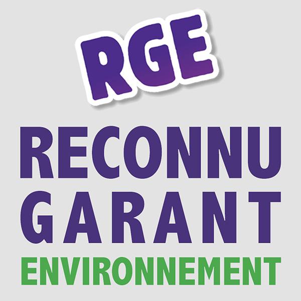 qualification RGE, reconnu garant de l'environnement