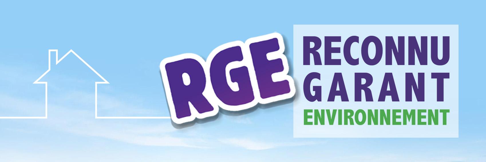 Qualifications RGE, reconnu garant de l'environnement
